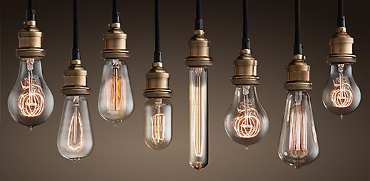 Vintage Light Bulbs | Amazing Design For Less