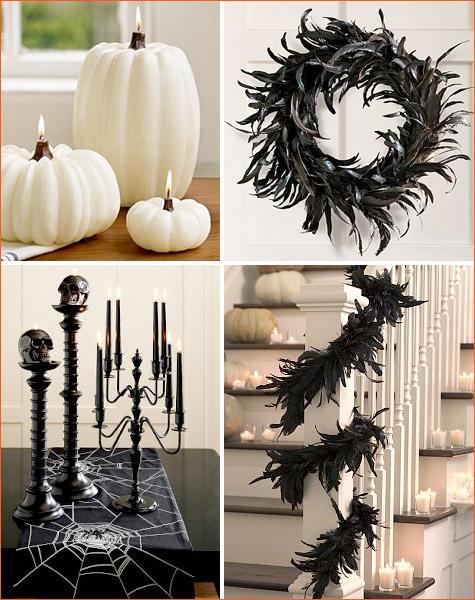 halloween chic et moderne design chic et moins cher. Black Bedroom Furniture Sets. Home Design Ideas