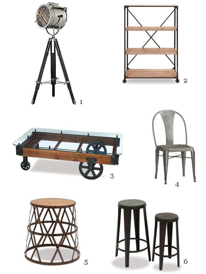 cr er un d cor de style industriel et chaleureux design. Black Bedroom Furniture Sets. Home Design Ideas