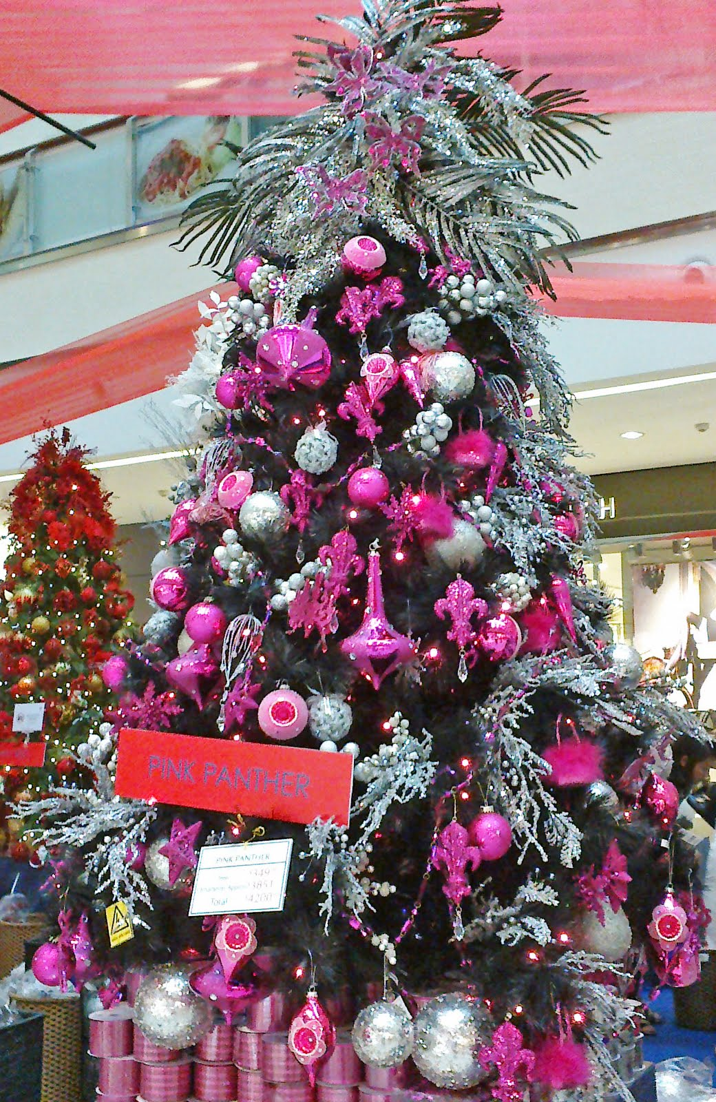Pink And Silver Christmas Glam Holt Renfrew Inspired