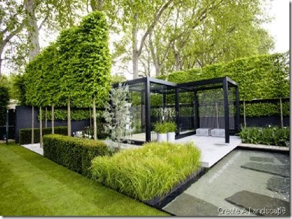 Interior design for home ideas contemporary backyard design for Design landscape garden
